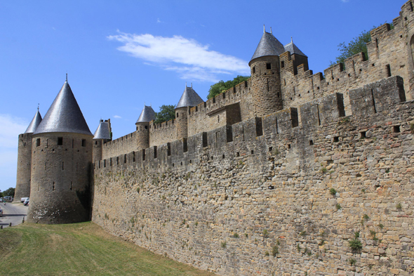 Carcassonne, military architecture