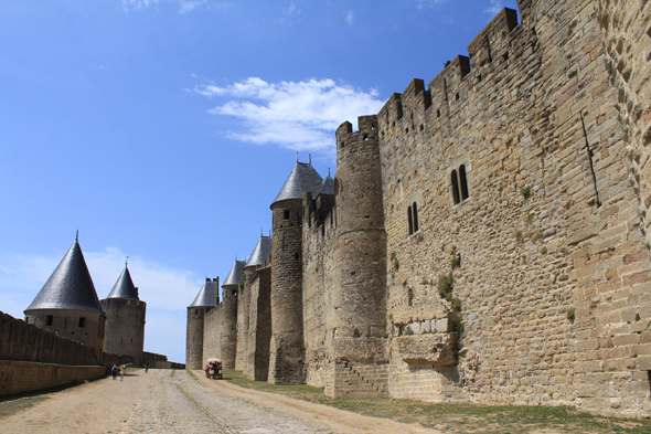 Carcassonne, ramparts