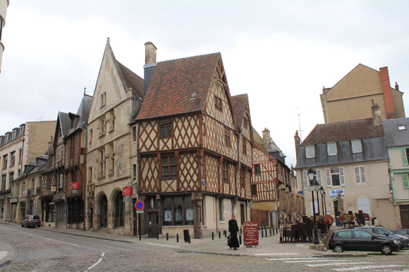 Half timbered houses, Bourges