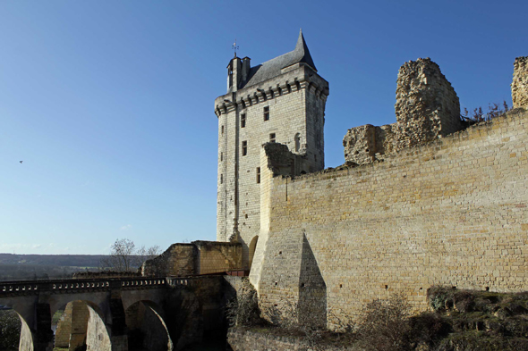 Chinon, castillo