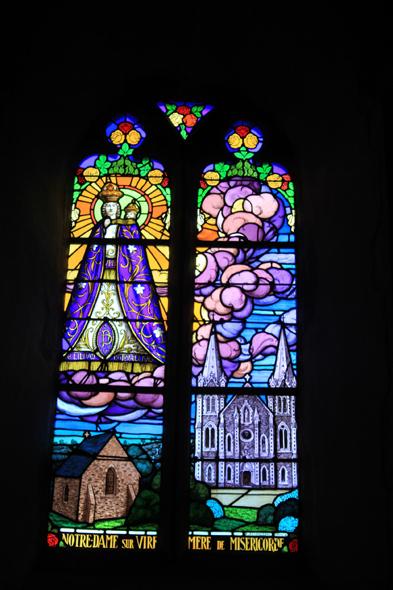 Saint sauveur le vicomte stained glasses - Piscine saint sauveur le vicomte ...