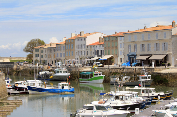 Port, Saint-Martin-de-Ré, France