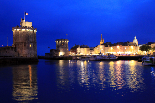 La Rochelle, night