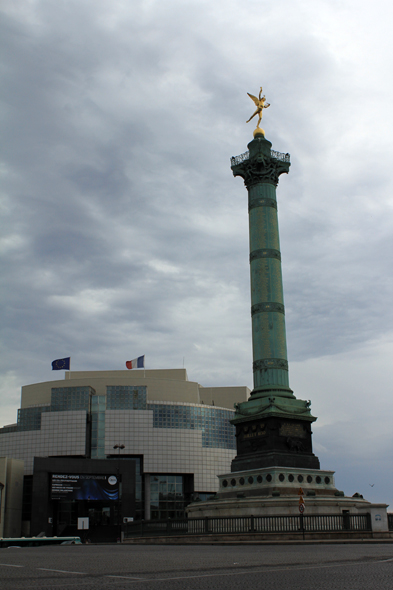 Paris, La Bastille, France