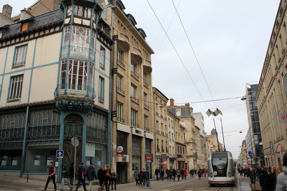 Nancy, Calle Saint-Jean