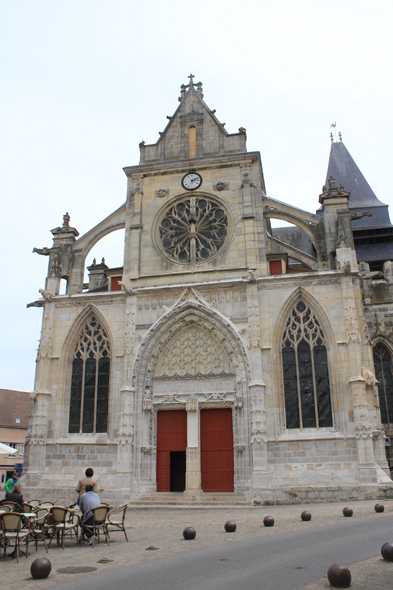 Houdan, St-Jacques and St-Christophe church