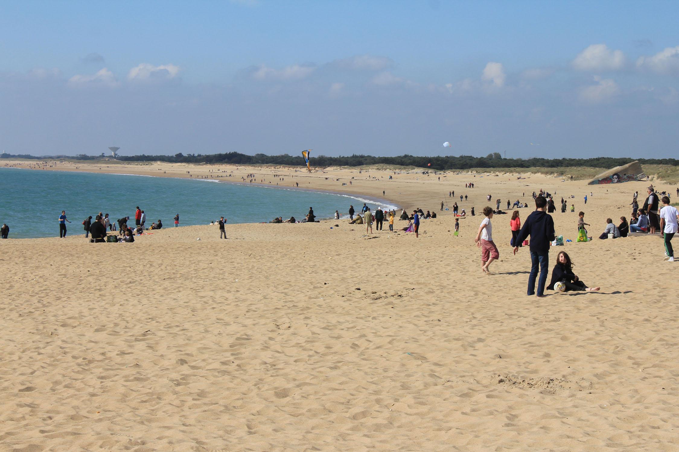 Bretignolles Beach Sion DIEULOIS