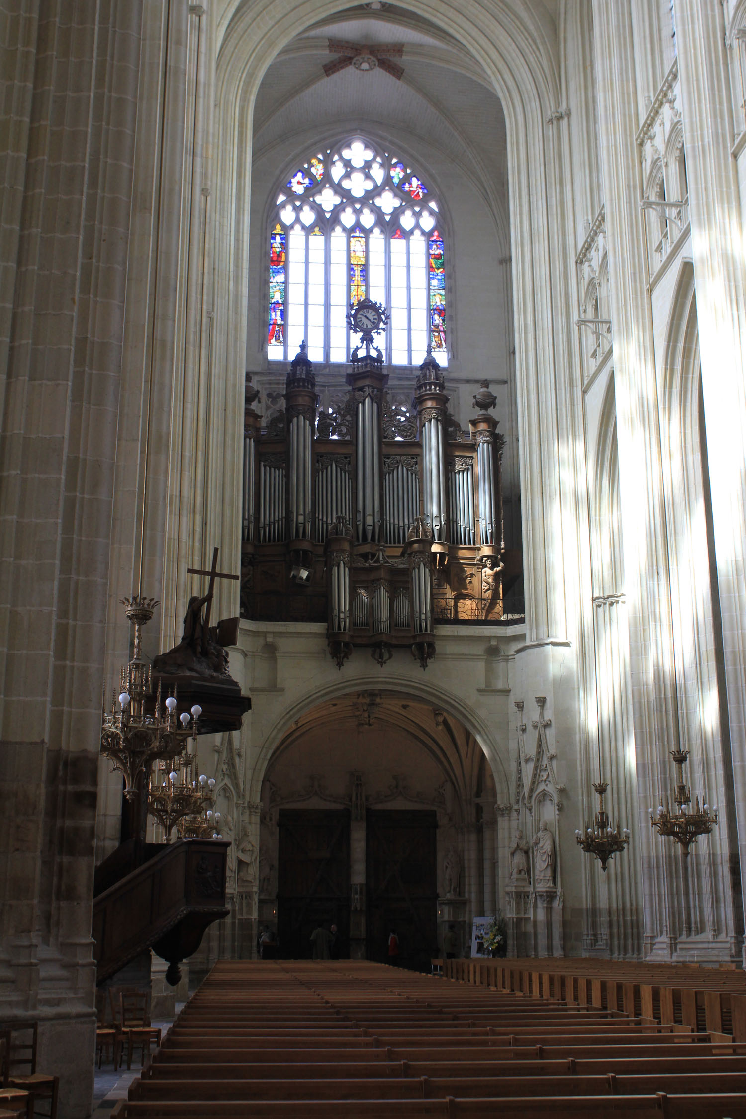 Nantes, catedral, nave