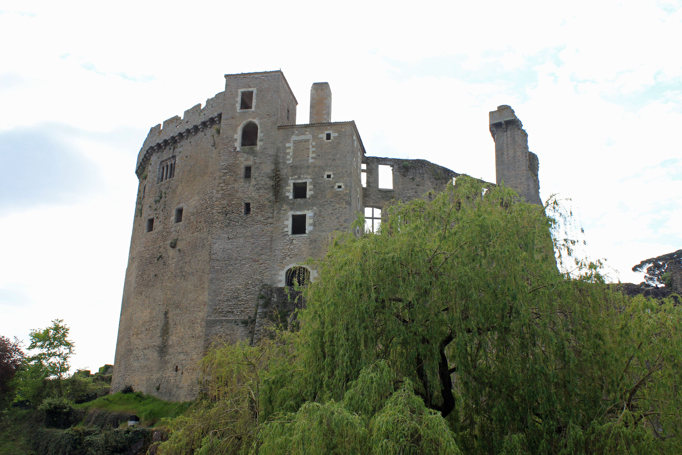 Clisson, castle
