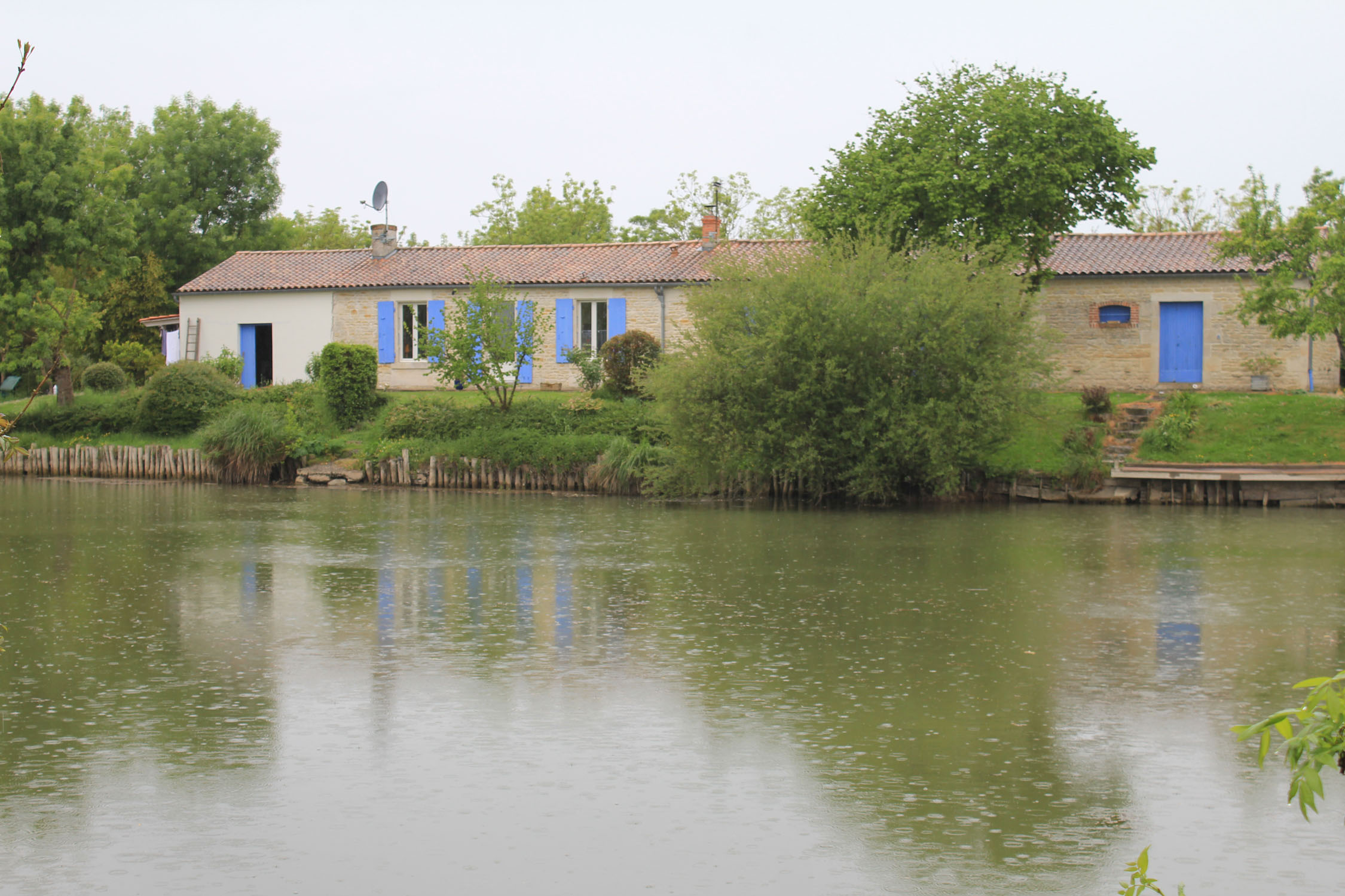 Poitevin marsh, traditional house