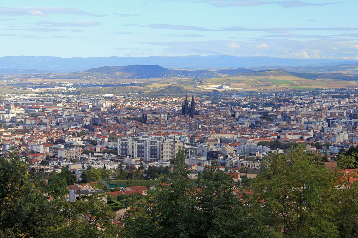 Clermont-Ferrand, view