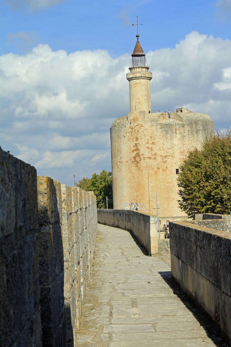 Aigues-Mortes, ramparts, Constance tower