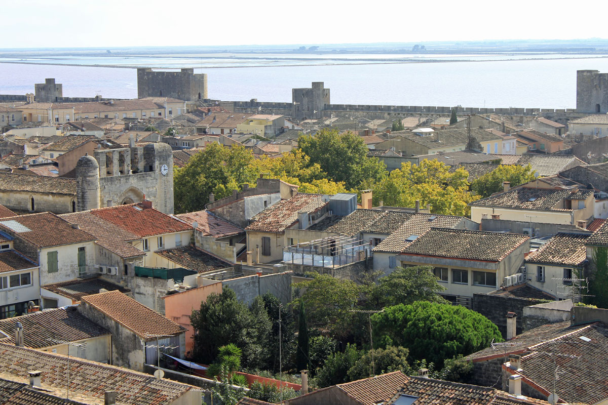 Aigues-Mortes, vista