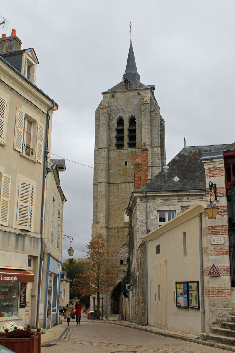 Beaugency, church tower, St-Firmin