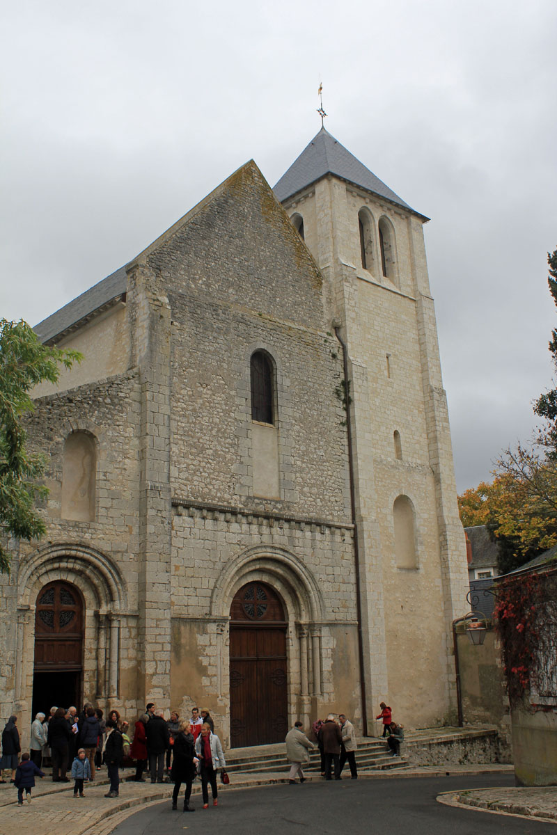 Beaugency, abbatial church Notre-Dame