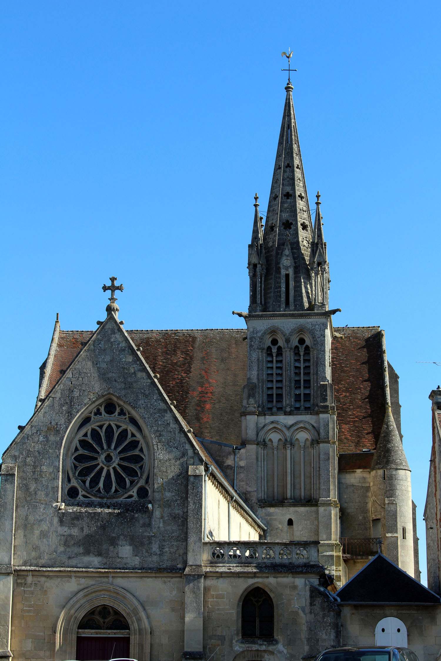 Crépy-en-Valois, church