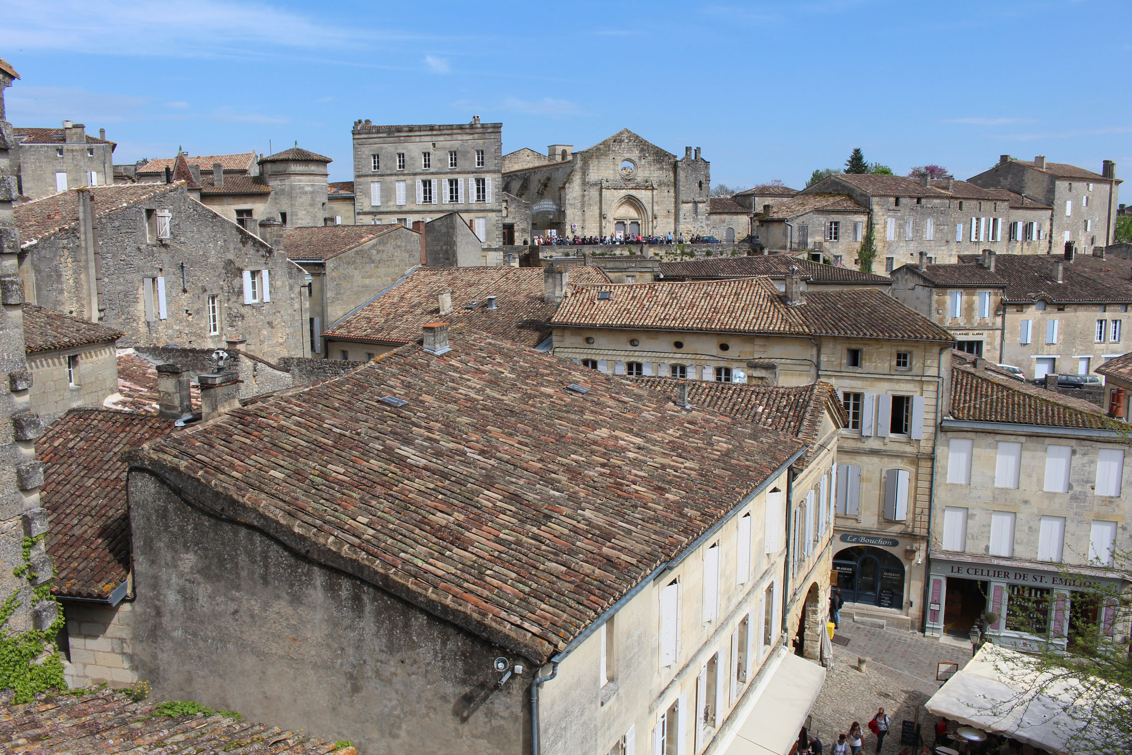 Saint-Emilion, view
