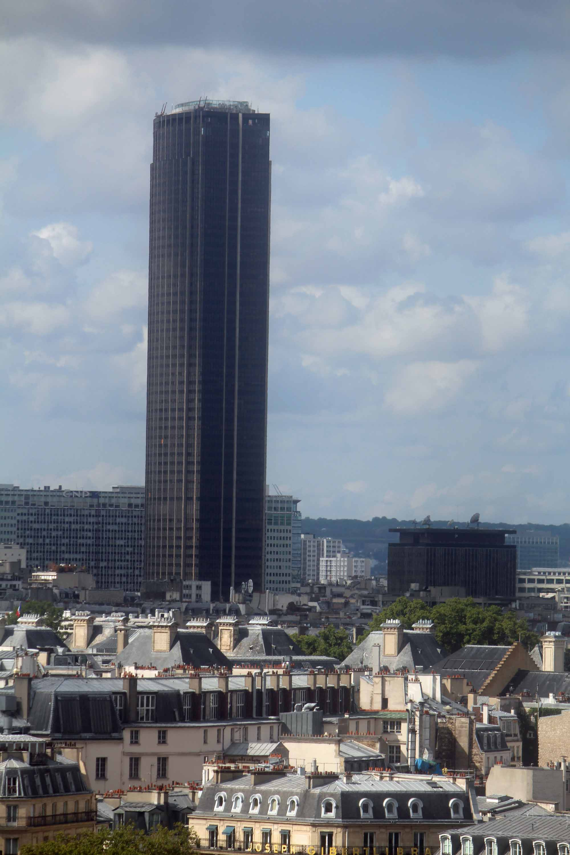 View of Paris, Montparnasse tower