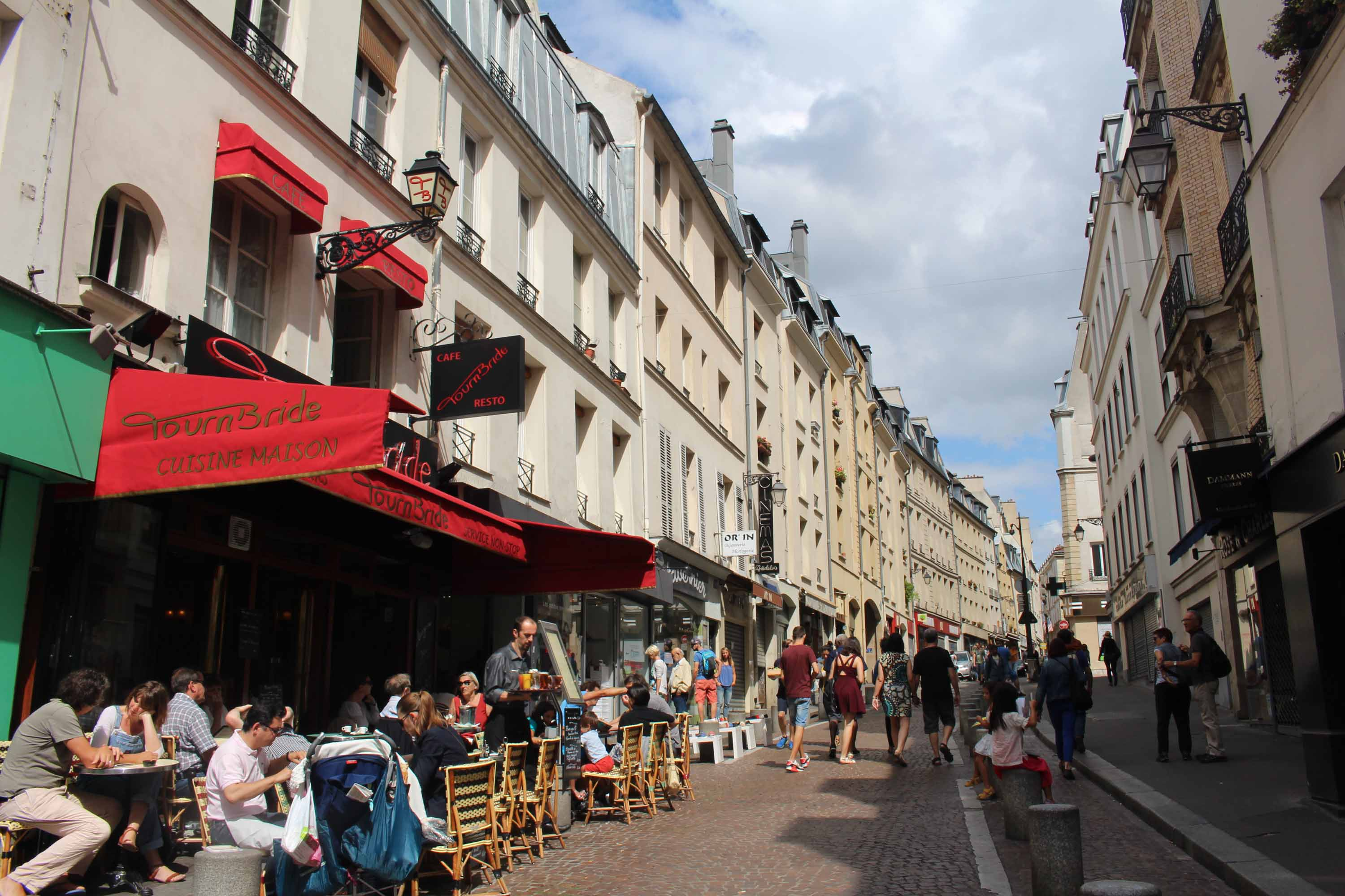 Paris, Mouffetard street