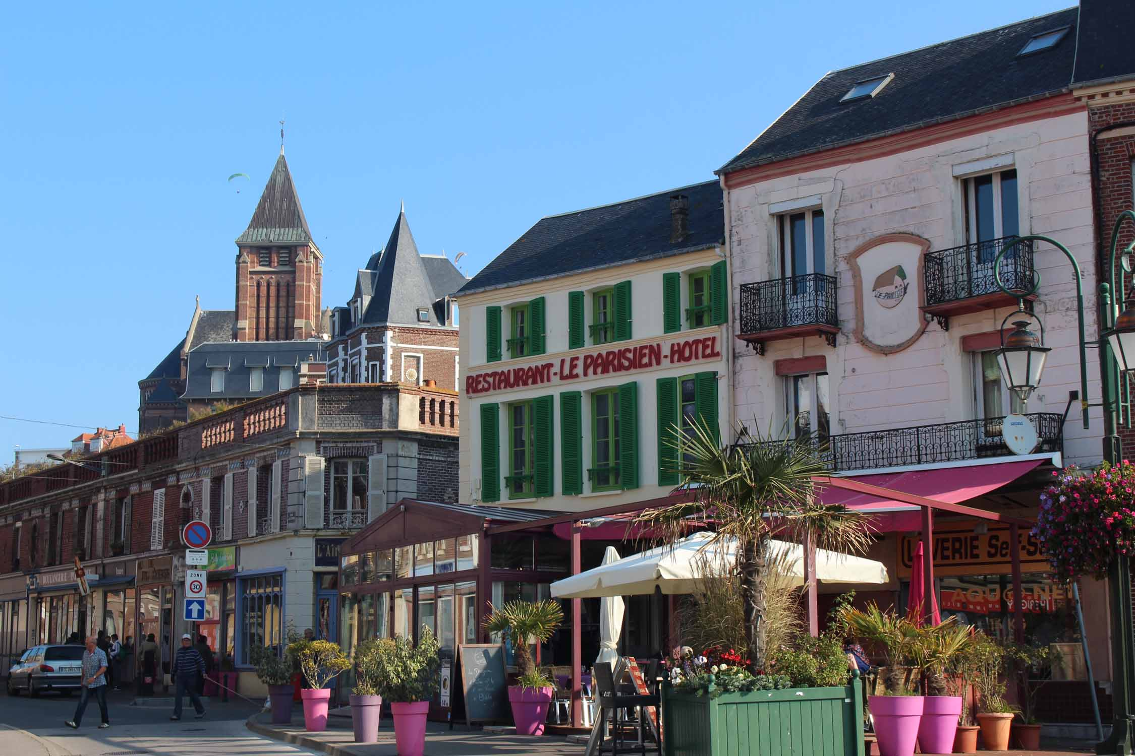 Mers-les-Bains, Normandy