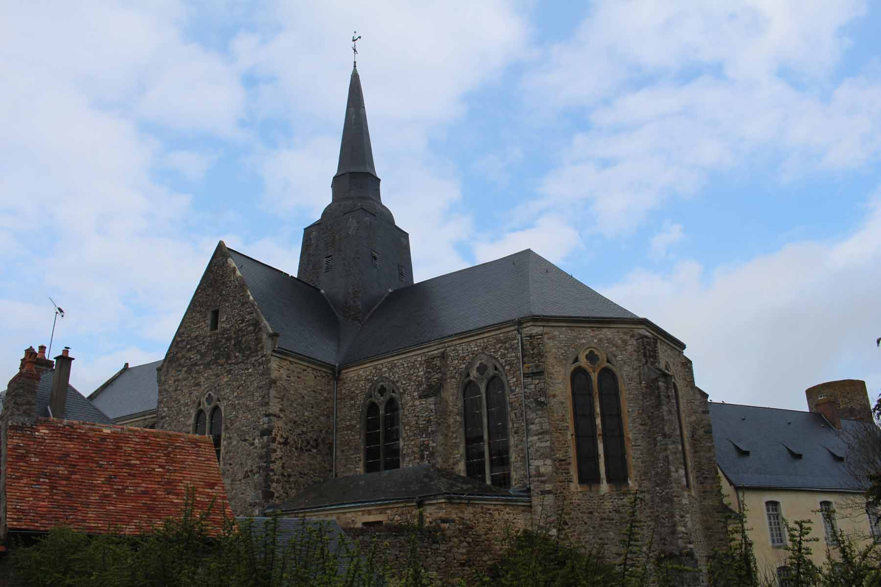 Sainte-Suzanne church, Mayenne