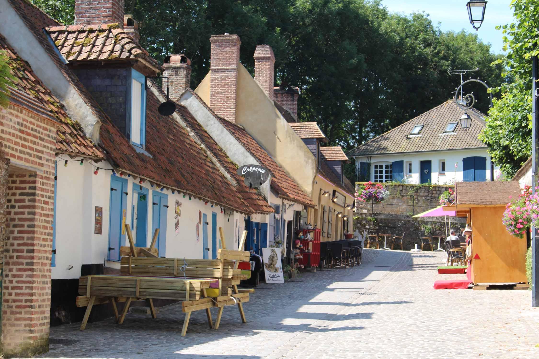 Montreuil sur mer rue clape en bois - Office du tourisme de montreuil sur mer ...