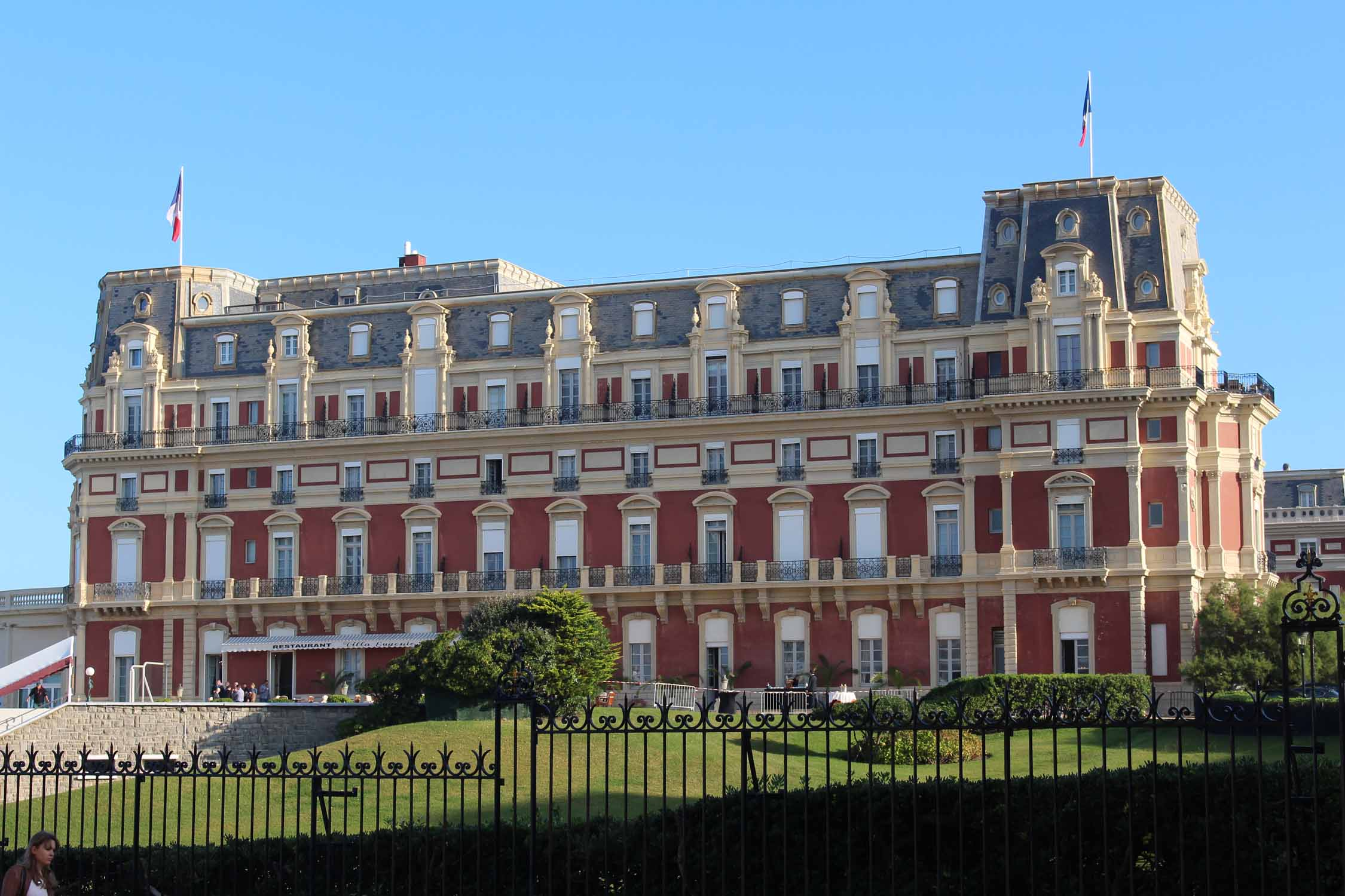 Biarritz, hotel of the Palace
