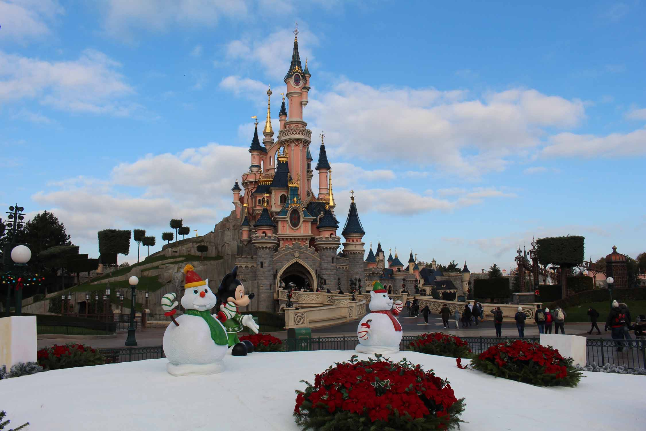 Disneyland Paris, castillo