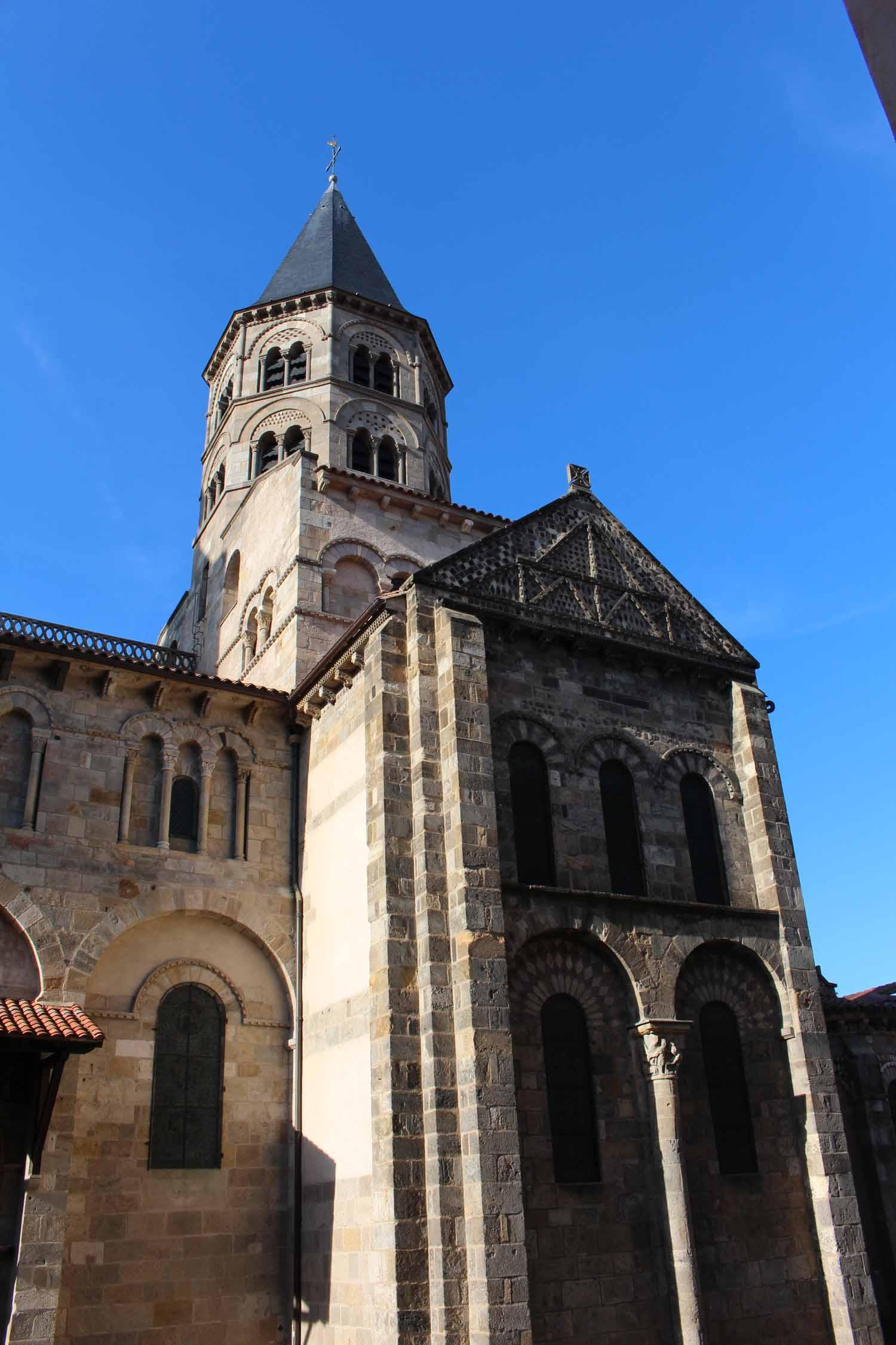 Clermont ferrand basilique notre dame du port - Basilique notre dame du port ...