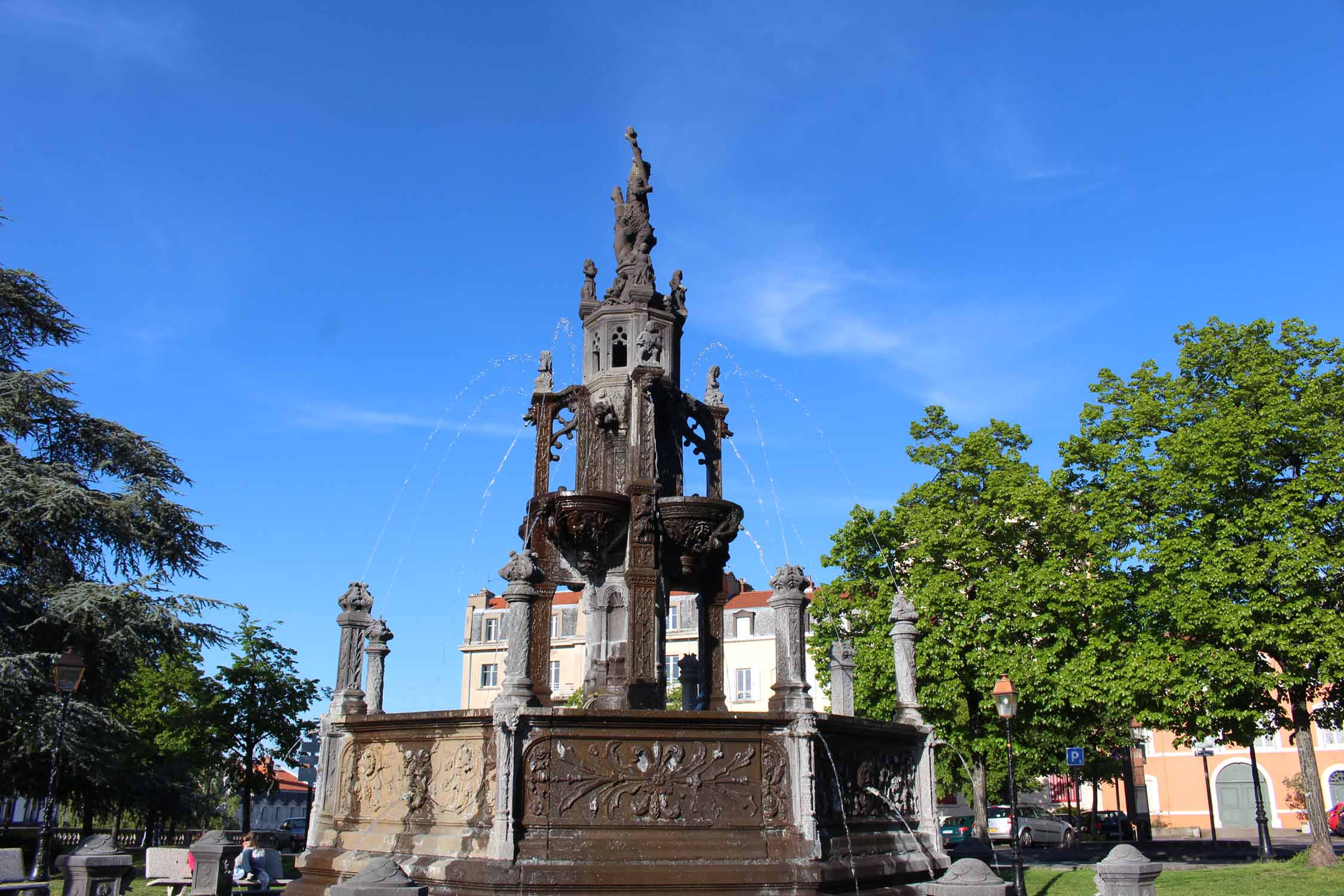 Clermont-Ferrand, fountain of Amboise