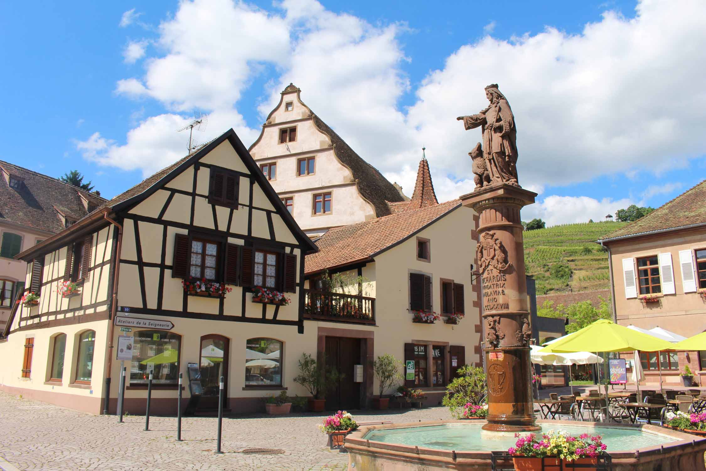 Andlau, Fontana Sainte-Richarde