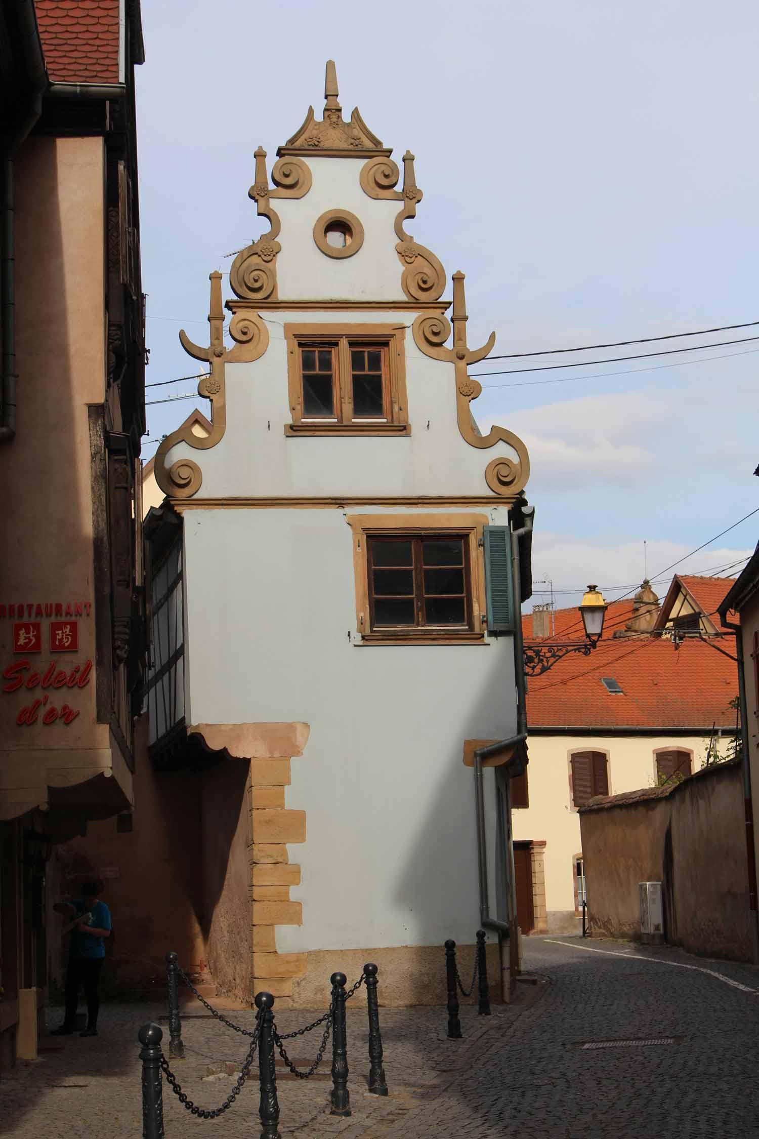 Molsheim maison typique for Maison typique