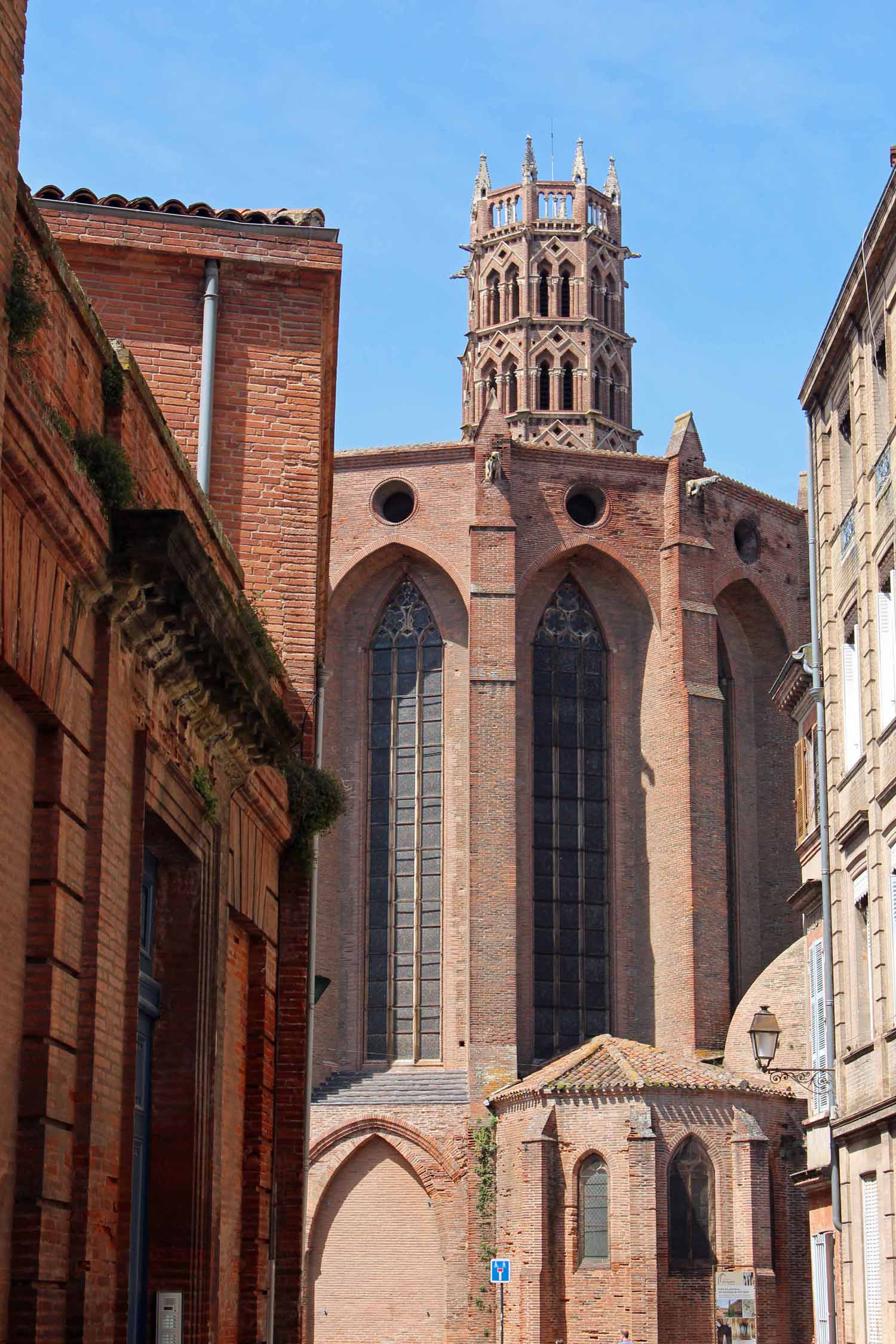 Toulouse,  church of the Jacobins