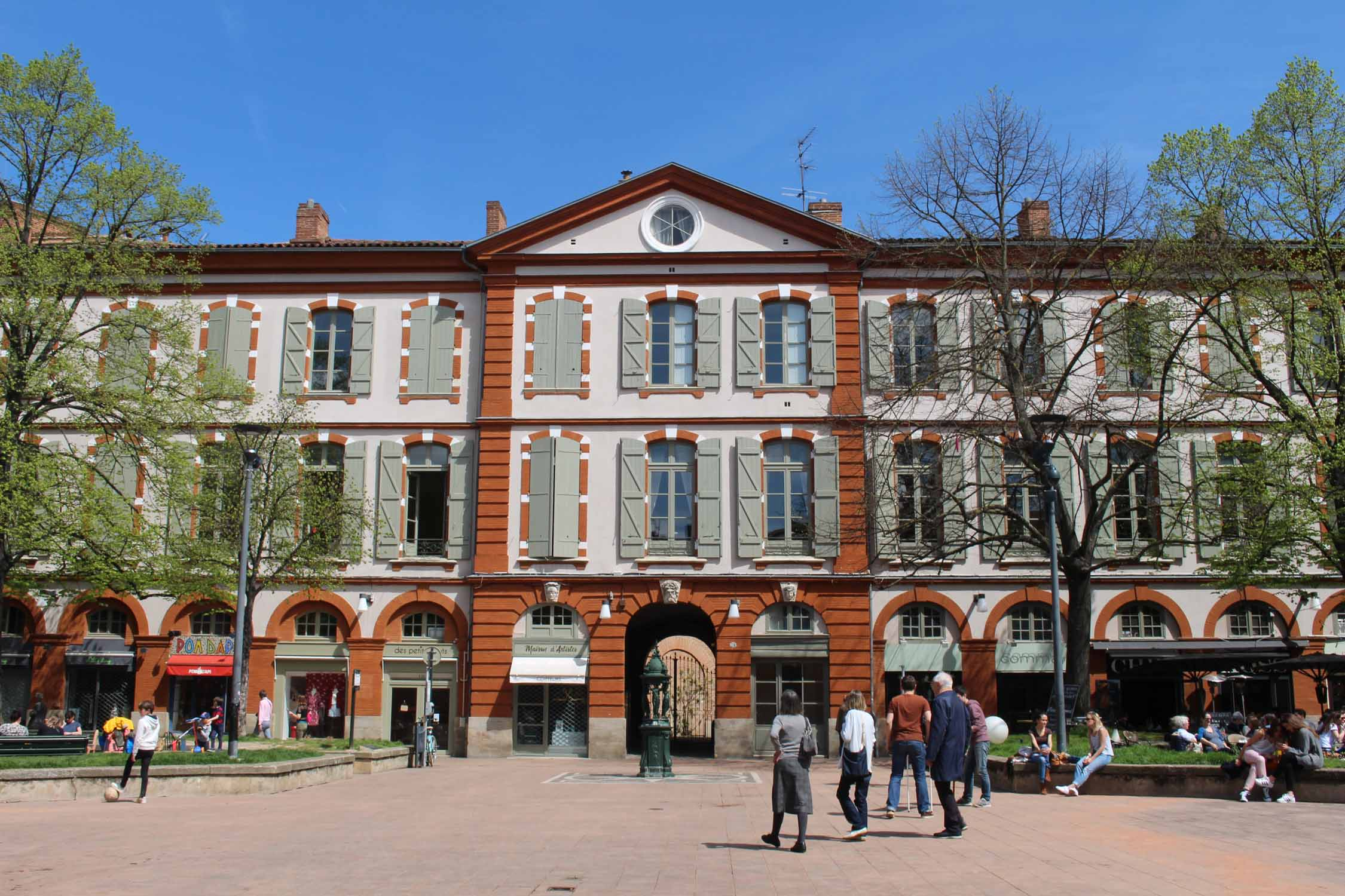 Toulouse,  Saint-Georges square