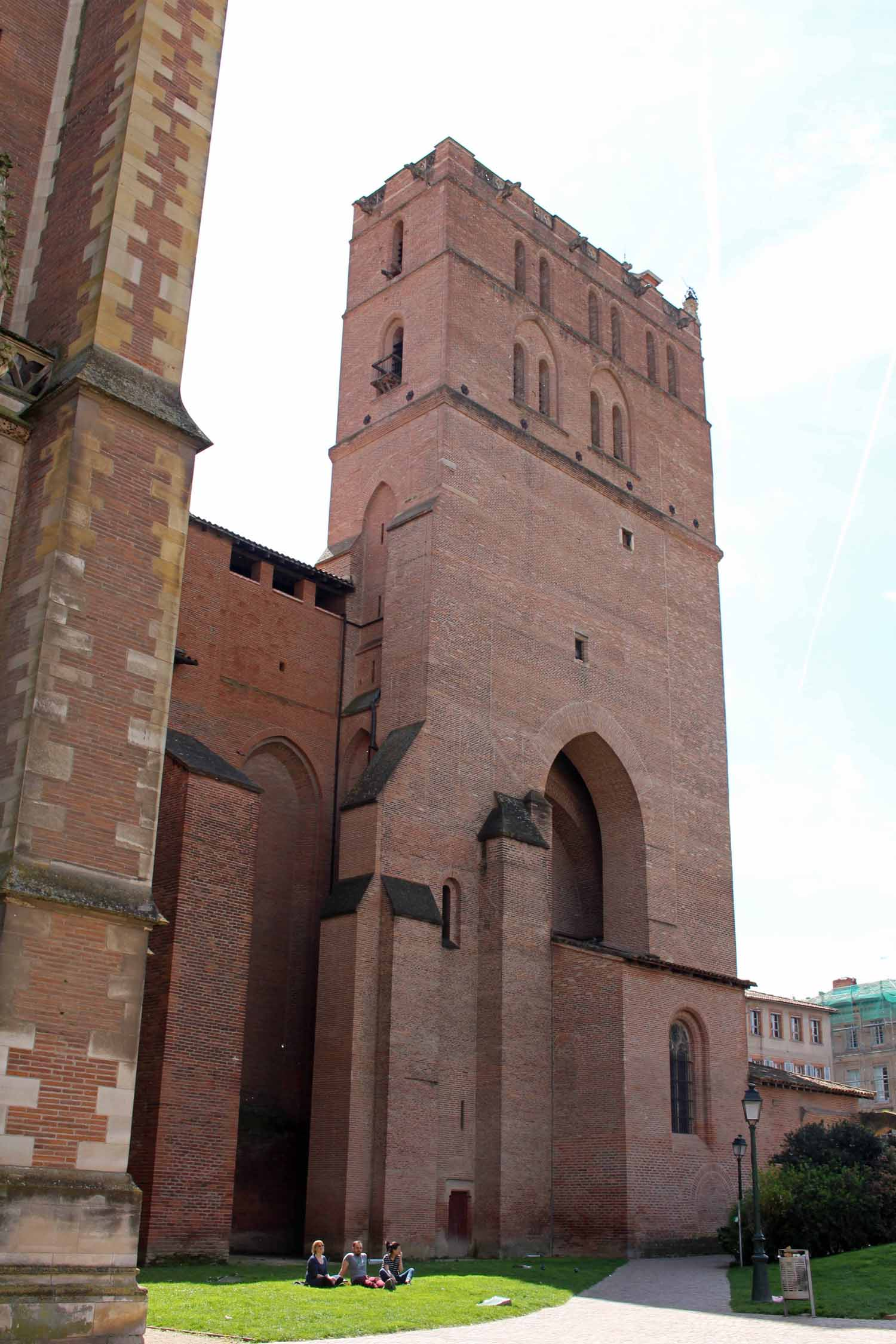 Toulouse,  Saint-Etienne cathedral, bell tower