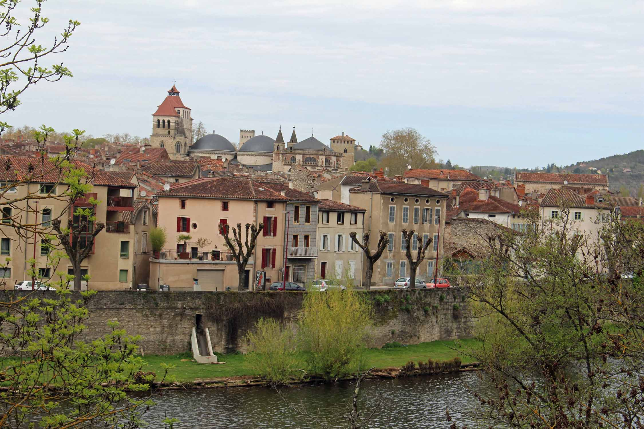 Cahors, le Lot river