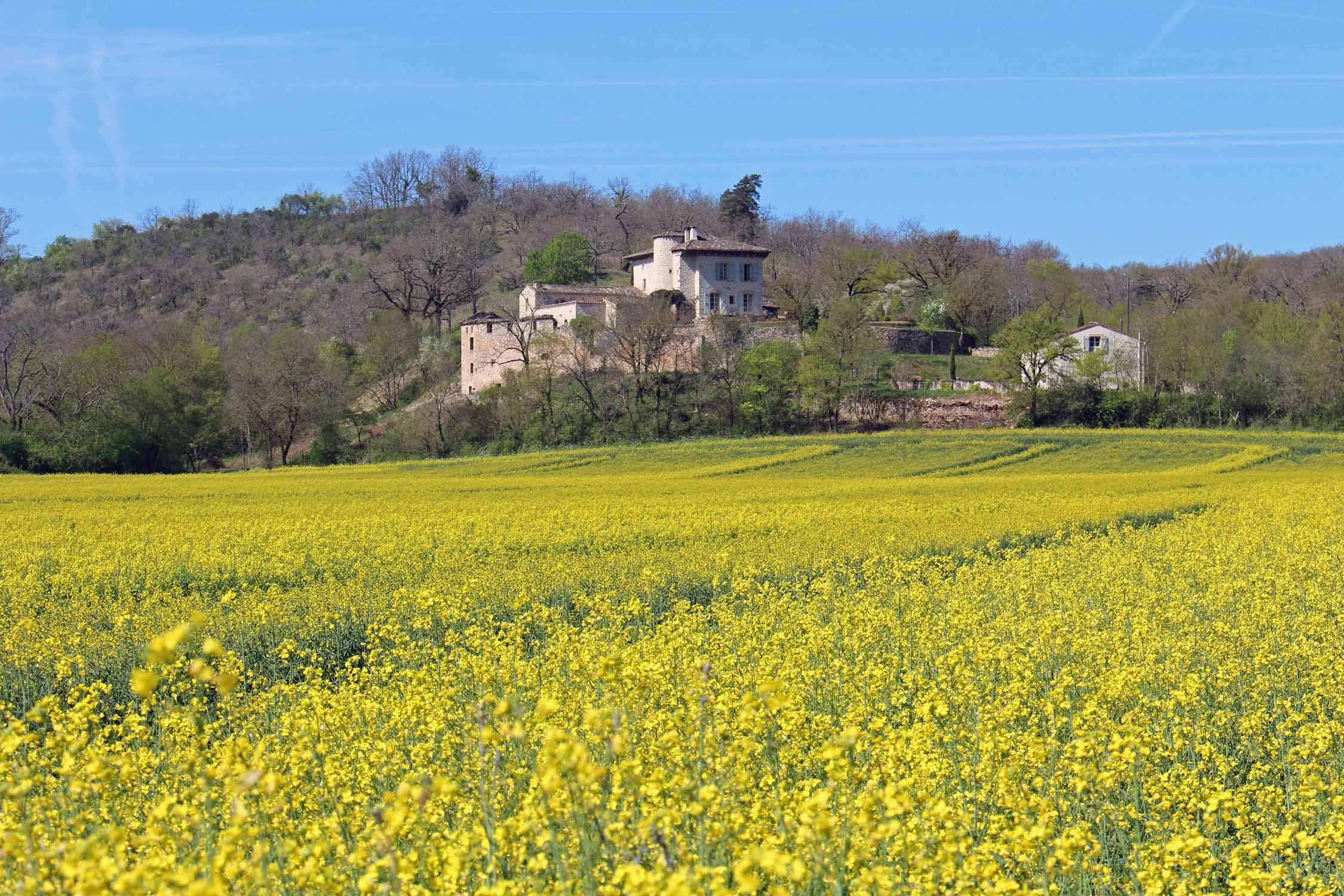 Paysage, Quercy