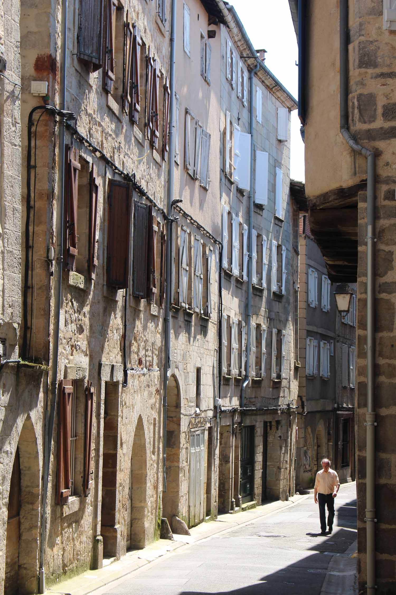 Figeac, typical street