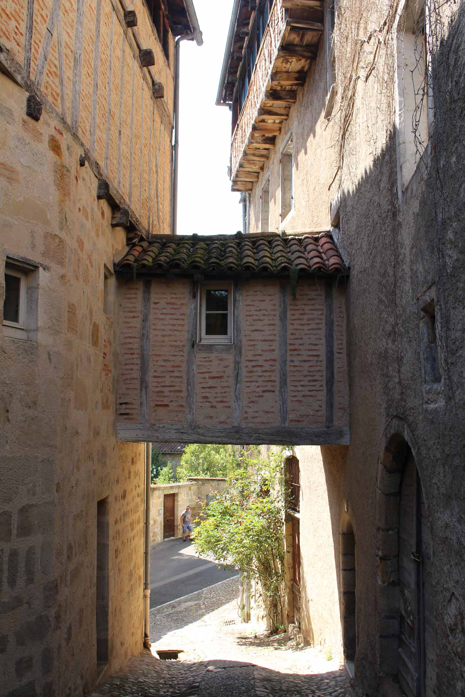 Figeac, typical alley