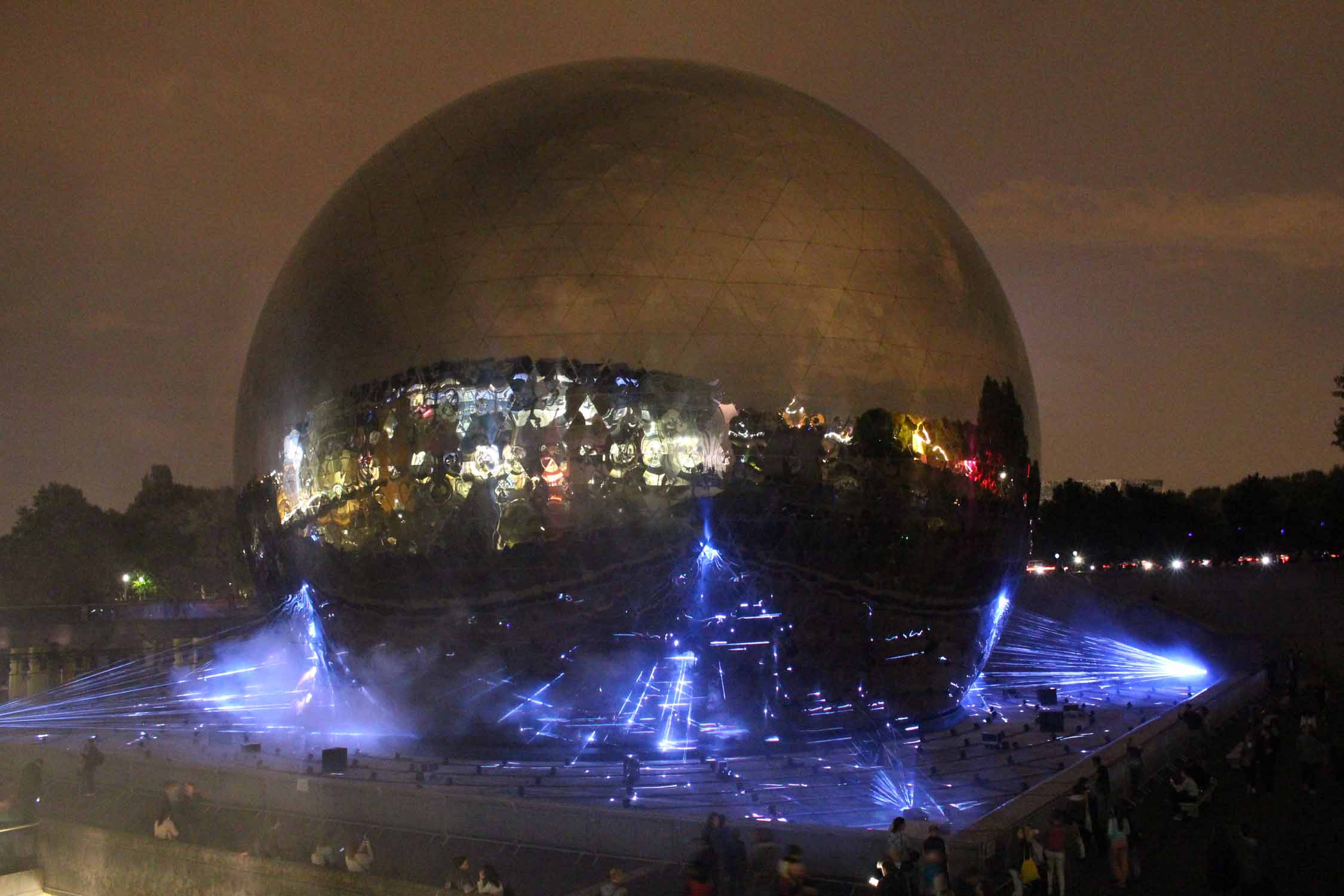 Paris, La Villette, Géode