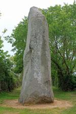 Menhir of the Plessis