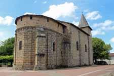 Esse, Charente, église Saint-Etienne