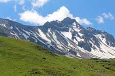 Cormet de Roselend, paysage