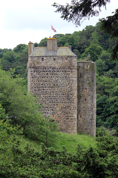 Neidpath castle, écosse