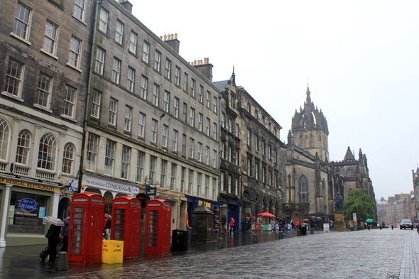 Edimburgo, High Street
