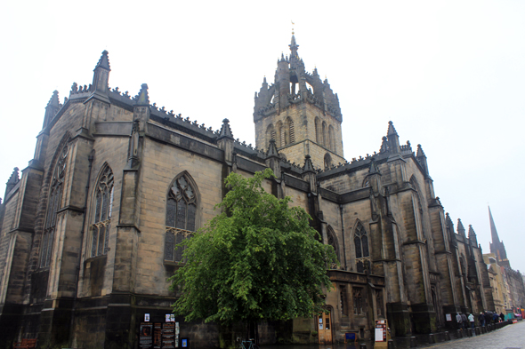 Edinburgh, cathedral St. Giles