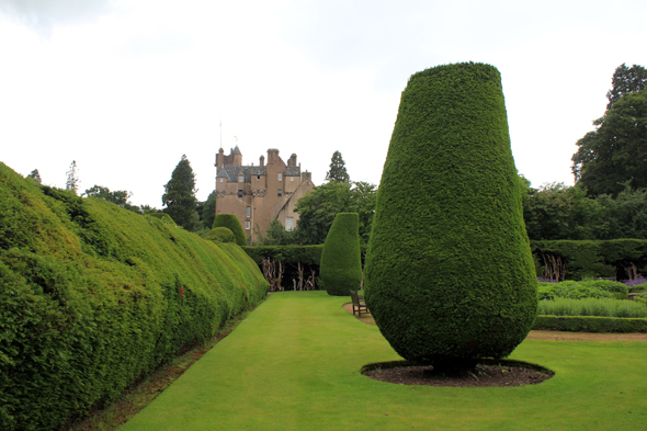 Crathes castle, écosse