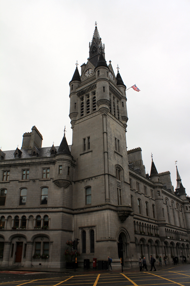 Aberdeen, Town Hall, Scotland