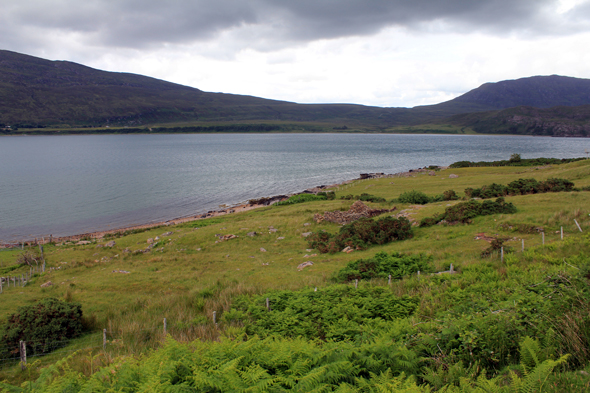 Little Loch Broom, écosse, paysage