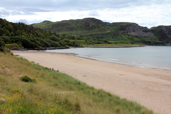 Gruinard Bay, playa